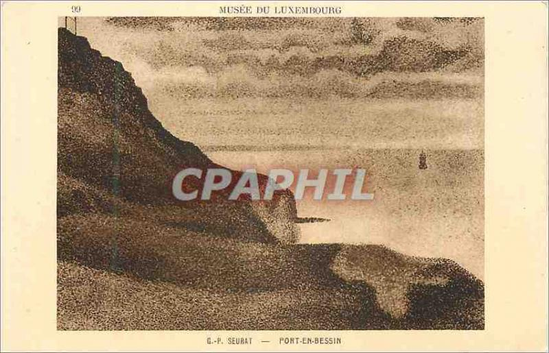 CPA Musee du Luxembourg Port Bessin