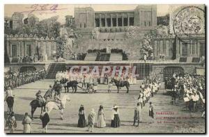 Old Postcard Theater Parysatis In arenas Beziers The return of hunting