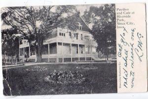 Pavilion & Cafe, Riverside Pk, Sioux City Iowa