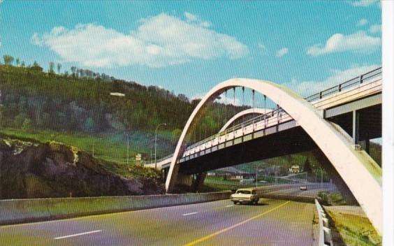 Canada Sur La Route Des Pays D'En Haut Les Laurentides 1970