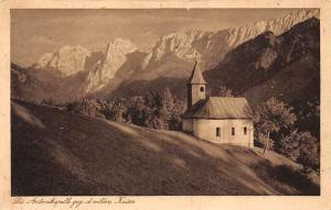 Die Antonikapelle gegen d. milden Kaiser Chapel Mountains