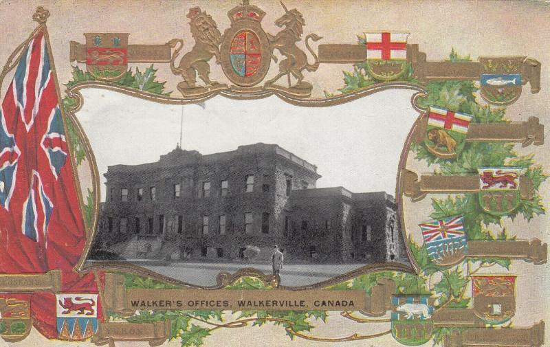WALKERVILLE , Ontario , Canada , 1909 ; Walker's Offices