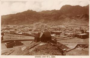 B91982 general view aden real photo yemen