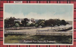 GREENOCK , Renfrewshire, Scotland, 00-10s ; Esplanade from Station Road