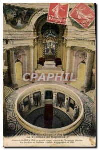 Postcard Old Paris Chapel of the Invalides Napoleon I's Tomb
