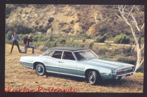 1969 FORD THUNDERBIRD VINTAGE CAR DEALER ADVERTISING