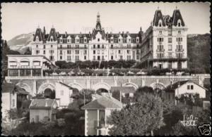 france, AIX LES BAINS, Hotel Bernascon (1950s) RPPC