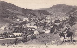 LE MONT DORE, Puy De Dome, France, 1900-1910's; Vue Generale Et Le Puy Gros
