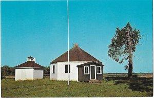 Octagonal School House Rt 9 near Dover Delaware Built 1836