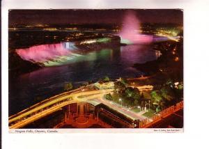 Night View, Niagara Falls, Ontario, Photo Ludwig, Hinde