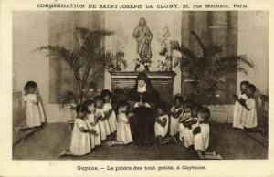 french guyana, CAYENNE, Prayer of the Little Ones (1920s) Mission