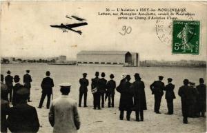 CPA AK Aviation a ISSY-les-MOULINEAUX LATHAM sur Monoplan Antoinette (860721)