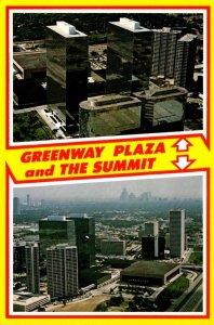 Texas Houston Greenway Plaza and The Summit