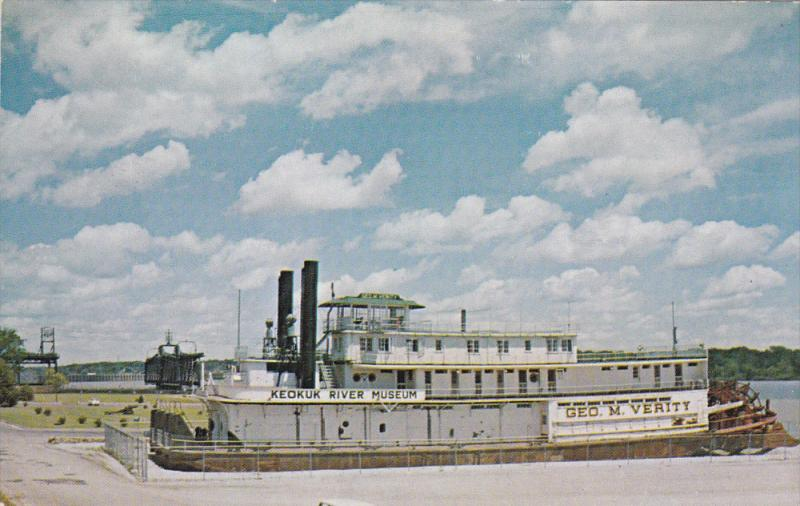 The Towboat George M. Verity, River Museum, Keokuk, Iowa, United States, 40´...