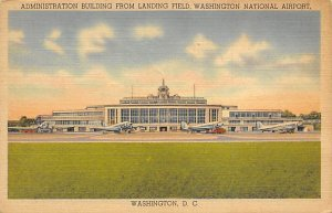 Administration building, Washington National Washington DC, USA Airport 1948