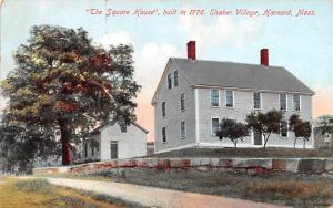 The Square House built 1776 Harvard MA USA Shaker 1910