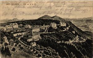 CPA AK DREI-AEHREN - TROIS-ÉPIS - Vue - Panorama (388456)