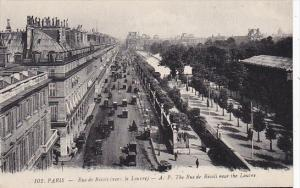 France Paris Rue de Rivoli