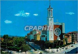 Postcard Modern Pamplona Church of St Xavier Francois Xavier