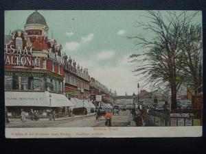 BRIXTON Brixton Rd showing Tailors ISAAC WALTON & Co. c1904 Postcard by H Spiers