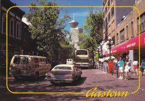 Water Street Gastown Vancouver British Columbia Canada