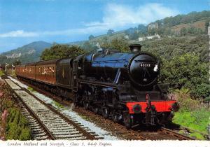 Bamforth Postcard LMS London Midland & Scottish Class 5 4-6-0 Steam Engine #L