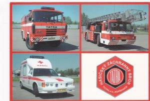 CZECH REPUBLIC, 1990-2000s ; TATRA Firetrucks & Ambulance, AZ DL 32, CAS 32 & T