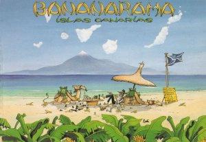 Bananarama Lanzarote Postcard