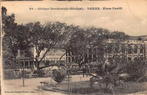 Senegal Dakar Place Protet Postcard