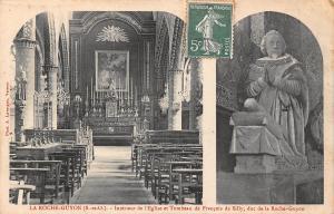 France La Roche Guyon Interieur de l'Eglise et Tombeau de Francois de Silly