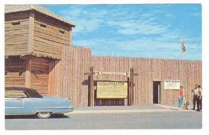This Is The Entrance To Fort Macleod, Alberta, Canada, 40-60s