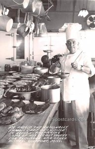 Mr Angeloo the Nationally Famous Chef De Cuisine in Gulfport, Mississippi