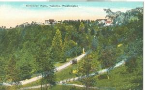 McKinley Park, Tacoma, Washington, early 1900s unused Pos...