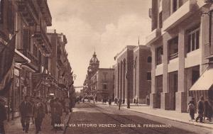 BARI , Italy , 00-10s : Via Vittorio Veneto- Chiesa S. Ferdinando