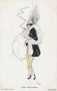 ART DECO ; Freda PEELE ; Female Fashion , RES MOUTARDE , 1910-30s