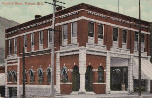 NELSON, British Columbia, Canada, PU-1920; Imperial Bank