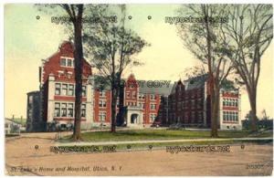 St Luke's Home and Hospital, Utica NY