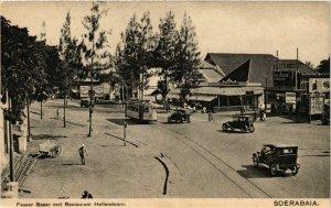 PC CPA SOERABAIA Passer Besar met Restaurant Hellendoorn INDONESIA (a17419)