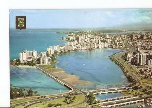 Postal 022609 : Vista del Sector y Laguna Condado, Puerto Rico San Juan