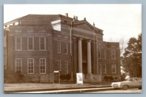 PURVIS MS LAMAR COUNTY COURT HOUSE VINTAGE REAL PHOTO POSTCARD RPPC