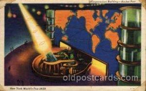 Transportation Bldg. New York Worlds Fair 1939 Exhibition 1939 postal used 19...