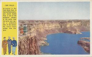 Dry Falls State Park, Washington State, U.S. Armed Forces Postcard, Unused