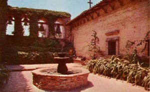 CA - San Juan Capistrano Mission, Sacred Garden and Fountain