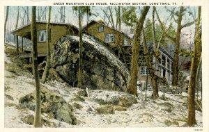 VT - Rutland. Killington Section, Long Trail. Green Mountain Club House