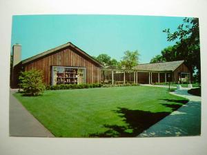 1960's Old Spinning Wheel Restaurant Hinsdale Illinois IL Unused Postcard y9196