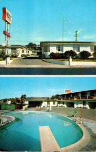 California San Clemente Riviera Motel 1964
