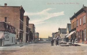 NORTH BAY , Ontario , Canada , 1907 ; Main Street , Looking West