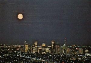 CALGARY , Alberta , Canada , 50-60s ; Moon