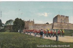 England Carlisle Castle Sunday Church Parade