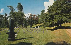 Vicksburg National Military Cemetery, Military Park, Gravestones, Vicksburg, ...